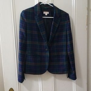 Merona Jackets & Coats - Merona plaid blazer